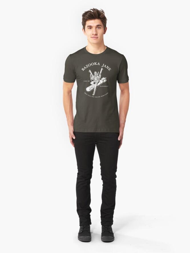 Alternate view of Bazooka Jane Slim Fit T-Shirt
