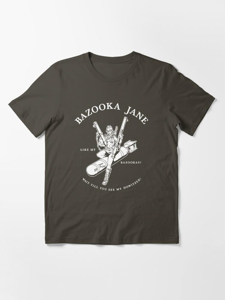 Alternate view of Bazooka Jane Essential T-Shirt