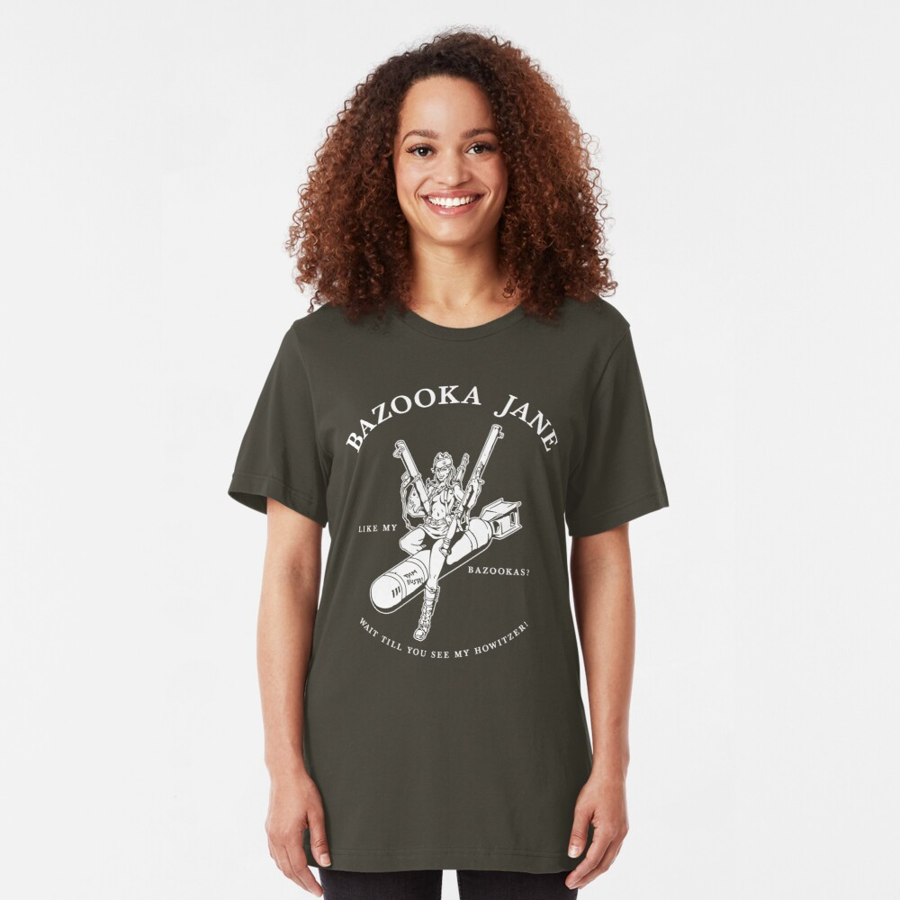 Bazooka Jane Slim Fit T-Shirt