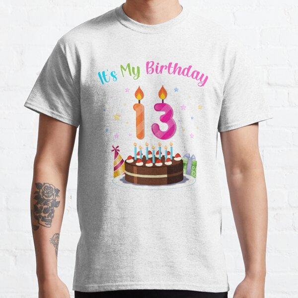 It's My 13th Birthday Classic T-Shirt