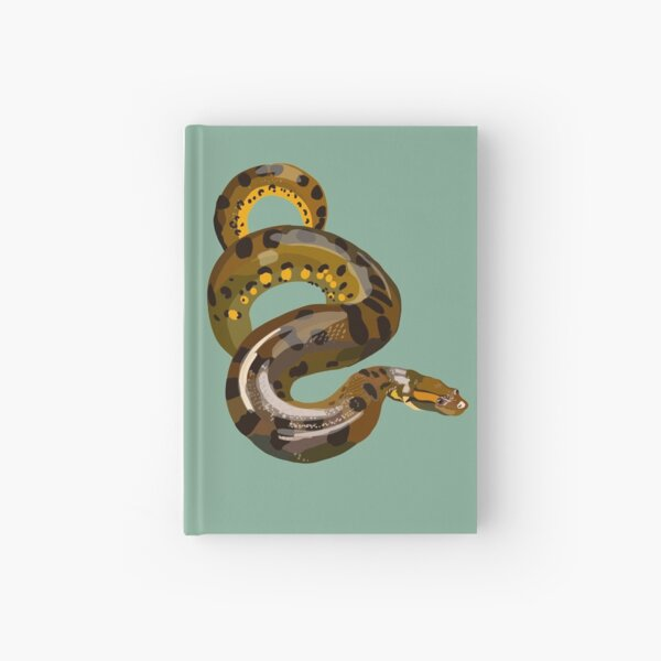 A is for Anaconda  Hardcover Journal