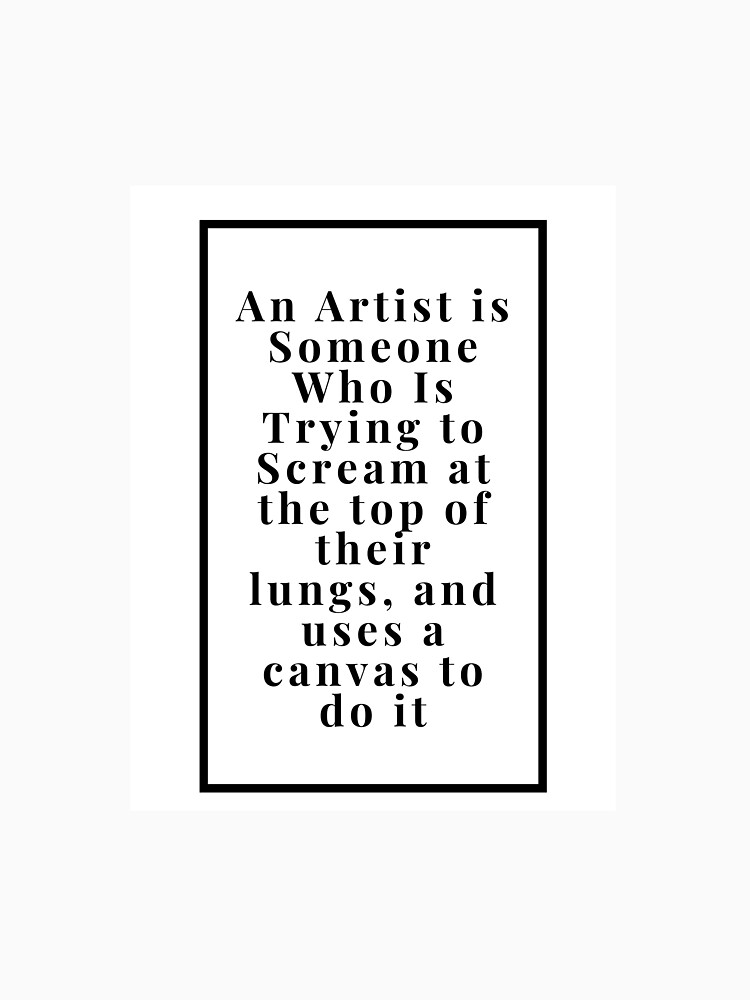 Artist Quote by juabstracts