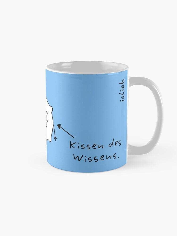 Alternative Ansicht von Kissen islieb Comic Tasse