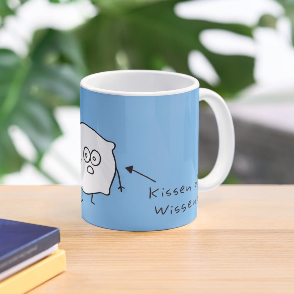 Kissen islieb Comic Tasse