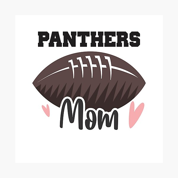 Panthers Football Mom Photographic Print