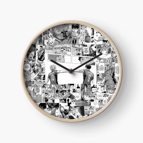 Haikyuu! Manga Collage V2 Clock