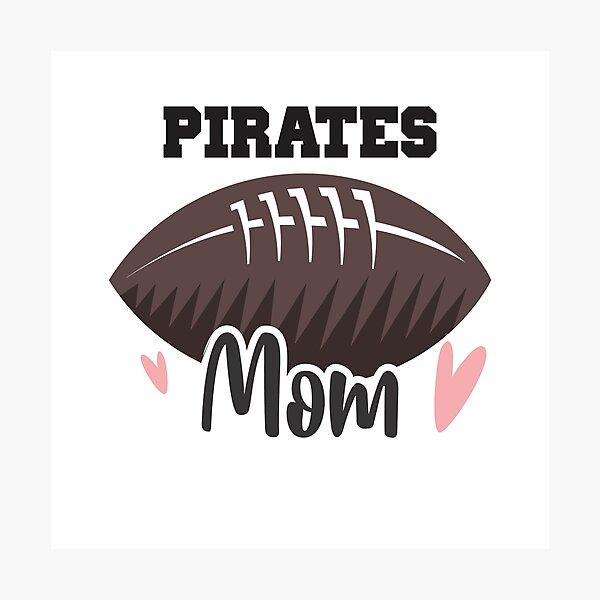 Pirates Football Mom Photographic Print