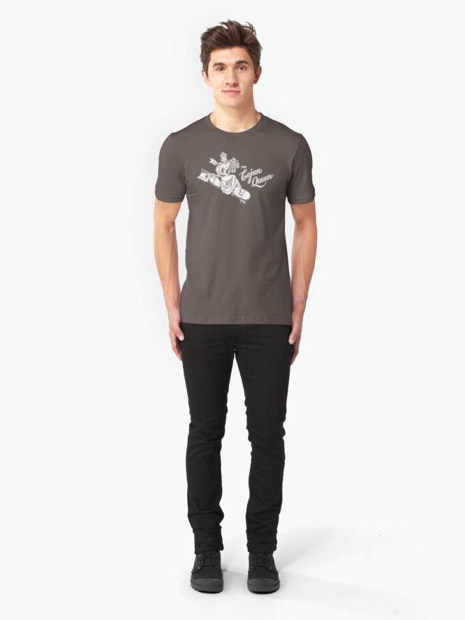 Alternate view of The Cajun Queen Slim Fit T-Shirt