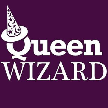 QUEEN WIZARD by GalaxyTees