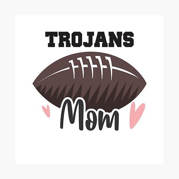 Trojans Football Mom Photographic Print