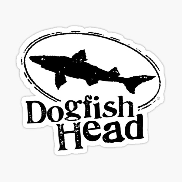 Dogfish Head Brewery Beer Sticker