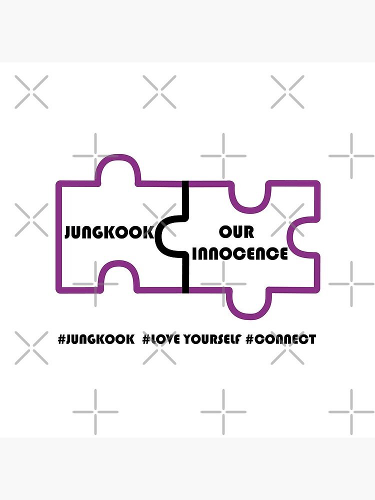 BTS #Connect Jigsaw - Jungkook by LondonKpopSt