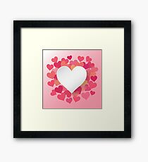 Love Hearth  Framed Print