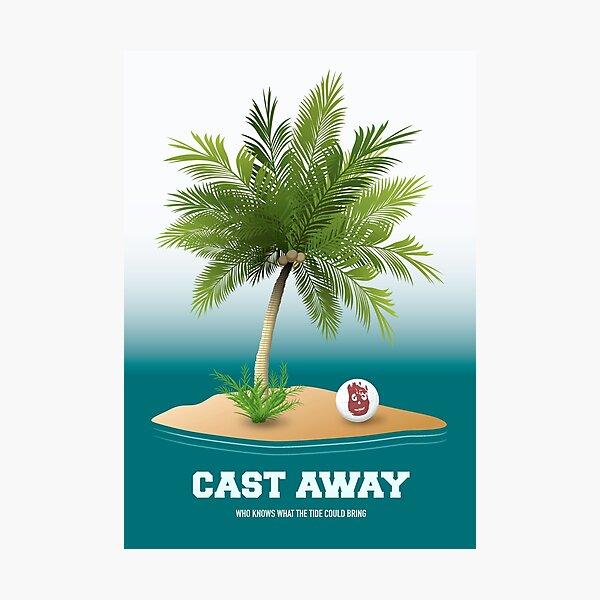 Cast Away - Alternative Movie Poster Photographic Print