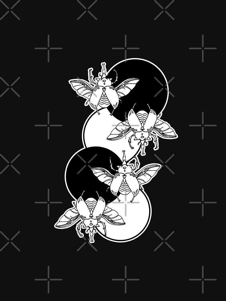 beetles and circles by craftordiy