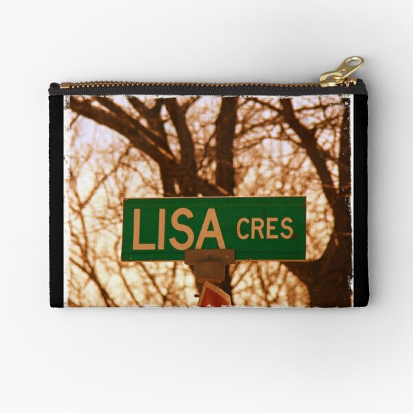 Lisa sticker, Lisa magnet, Lisa mug, Lisa greeting card  Zipper Pouch