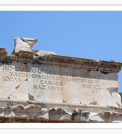 From the Emperor Caesar Augustus Sticker
