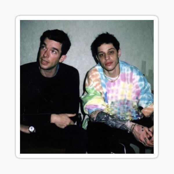 Pete Davidson and John Mulaney Sticker