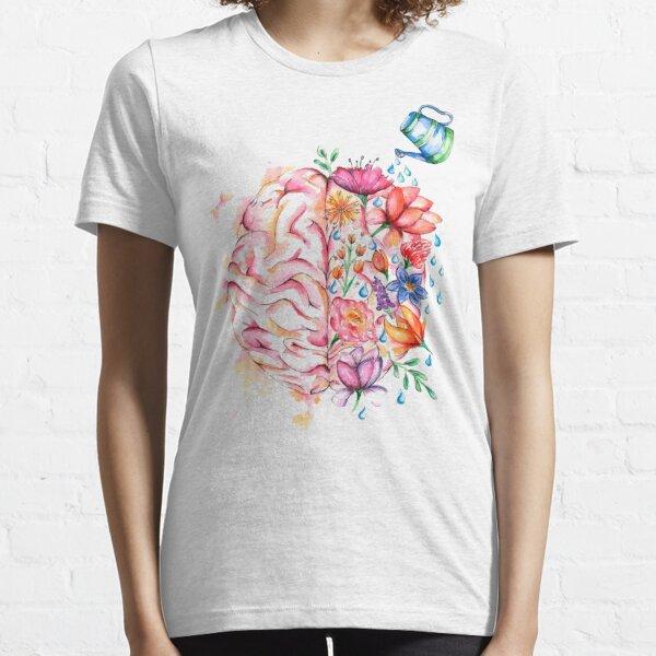 Mental Health Matters - Watercolor Design Essential T-Shirt