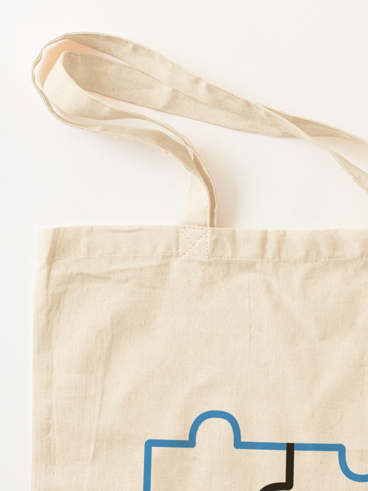 Alternate view of BTS #Connect Jigsaw - Namjoon Tote Bag
