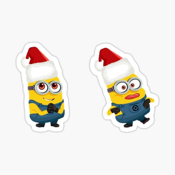 Christmas Minions Sticker