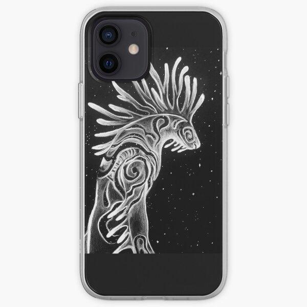 Ominous - Inktober 2020 Series - Black iPhone Soft Case