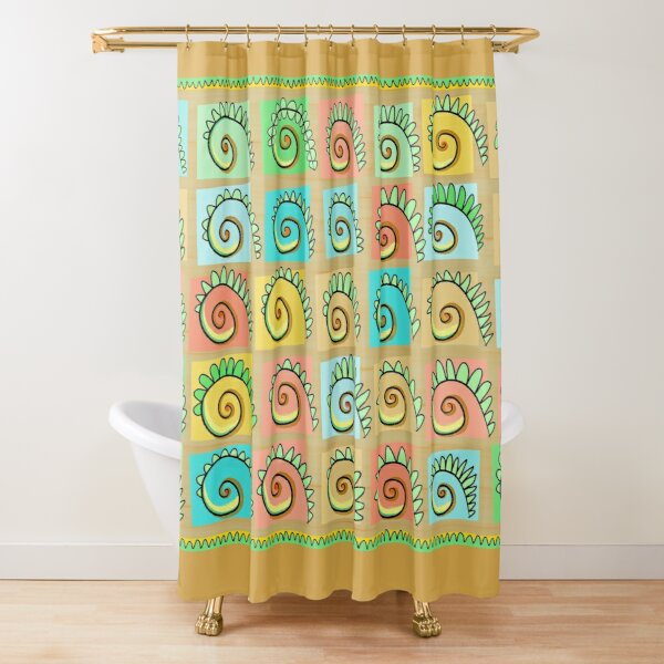 Fernishness Bold Shower Curtain