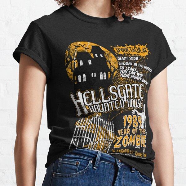 HellsGate Haunted House Retro Style Classic T-Shirt