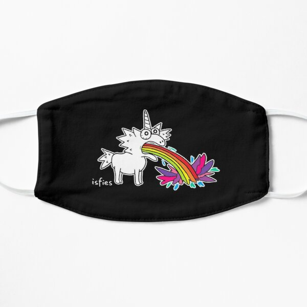 Regenbogen-Einhorn Maske
