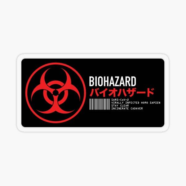 Biohazard Transparent Sticker