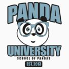 Panda University - Blue by Adam Santana