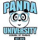Panda University - Blue by Adamzworld