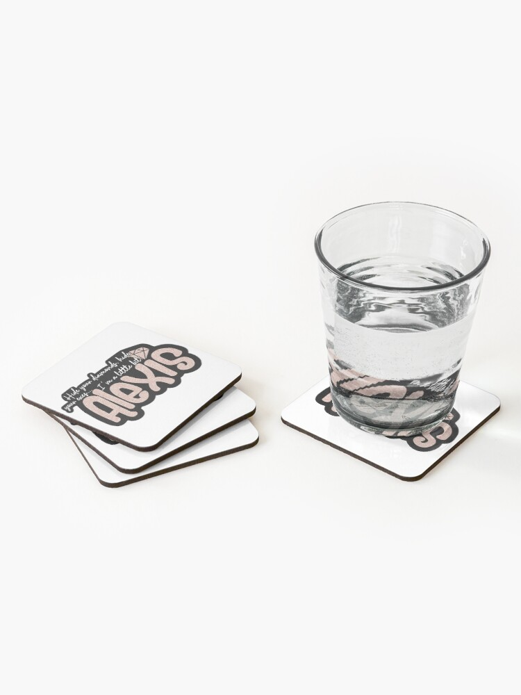 Alternate view of Alexis - Hide your diamonds. Coasters (Set of 4)