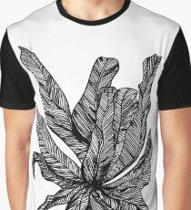 Birds Nest Fern Art Graphic T-Shirt