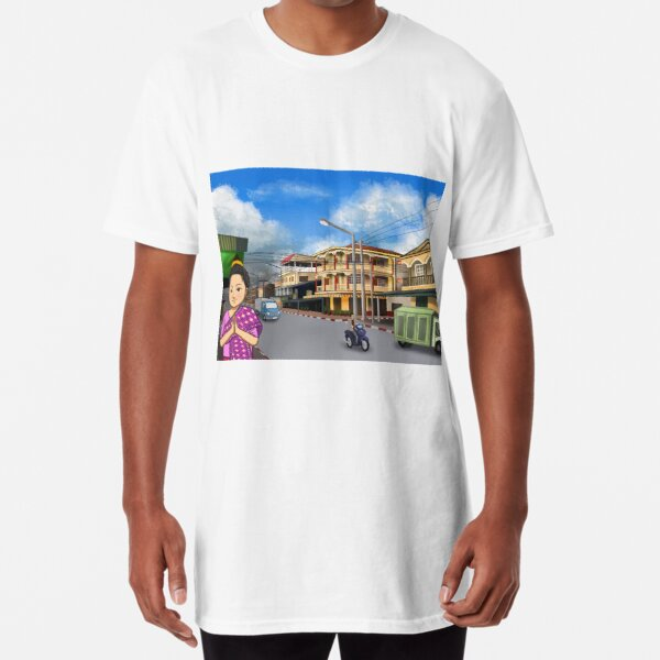 1182_I Am Thip_Series 1 Long T-Shirt
