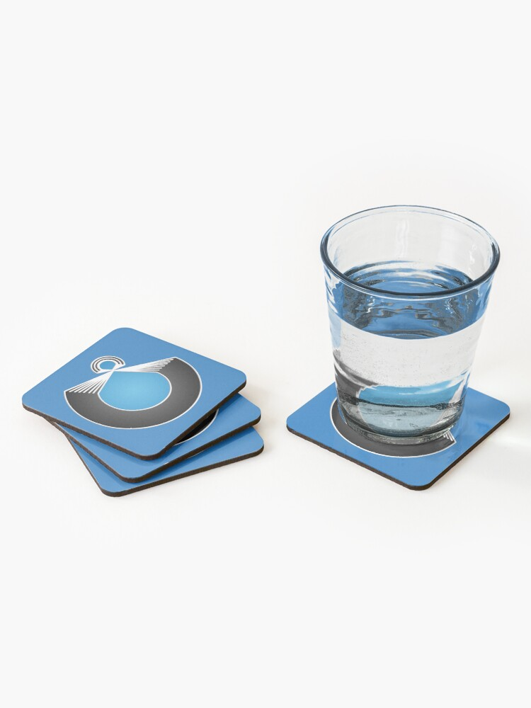 Alternate view of Port Fish official merch Coasters (Set of 4)