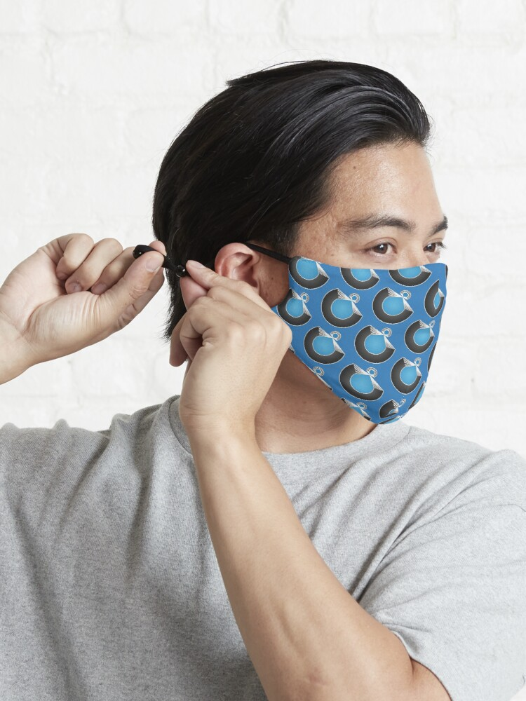 Alternate view of Port Fish official merch Mask