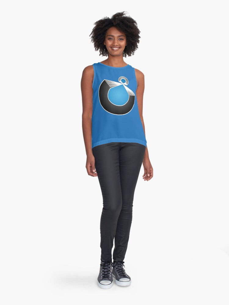 Alternate view of Port Fish official merch Sleeveless Top