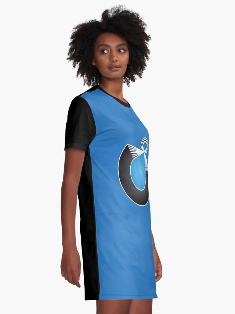 Alternate view of Port Fish official merch Graphic T-Shirt Dress