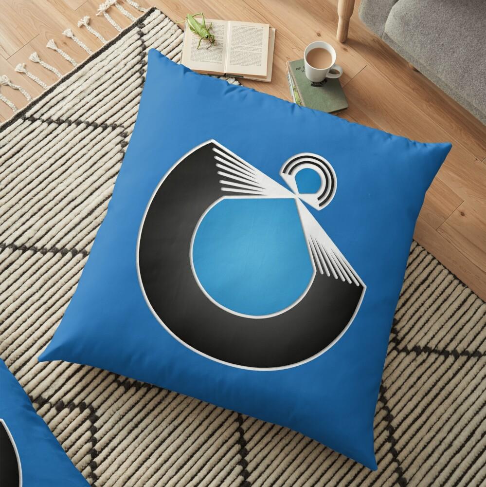 Port Fish official merch Floor Pillow