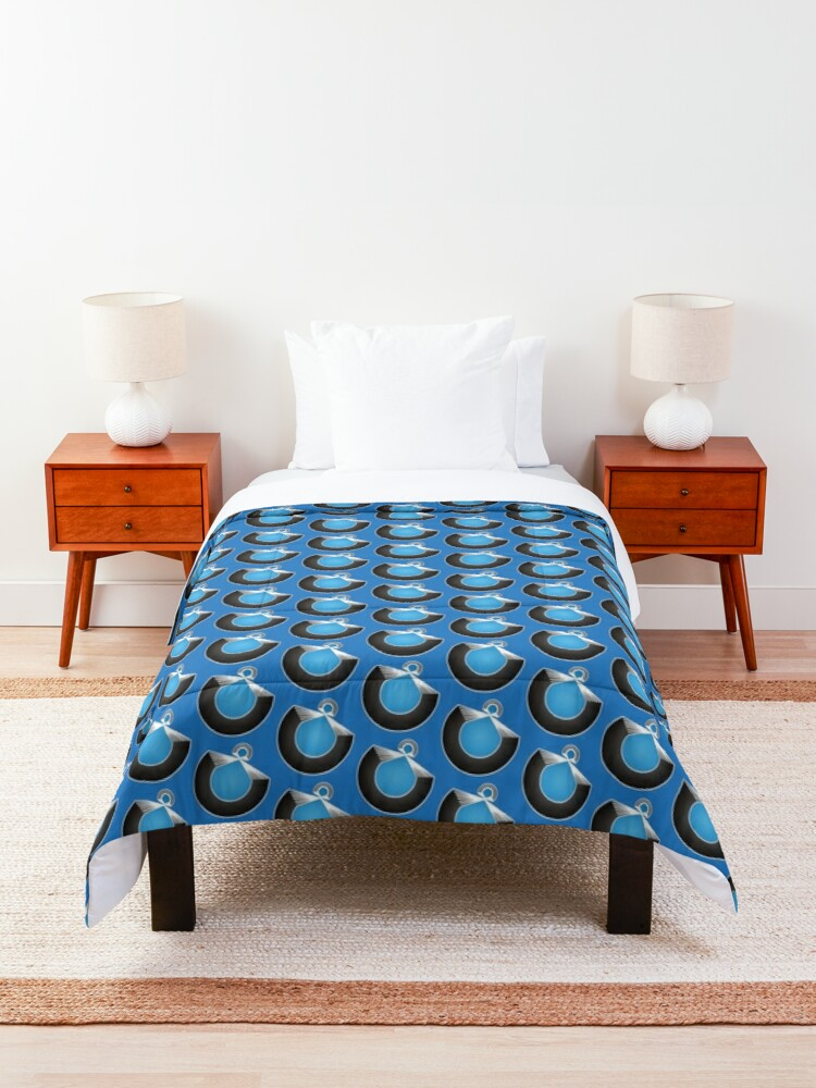 Alternate view of Port Fish official merch Comforter