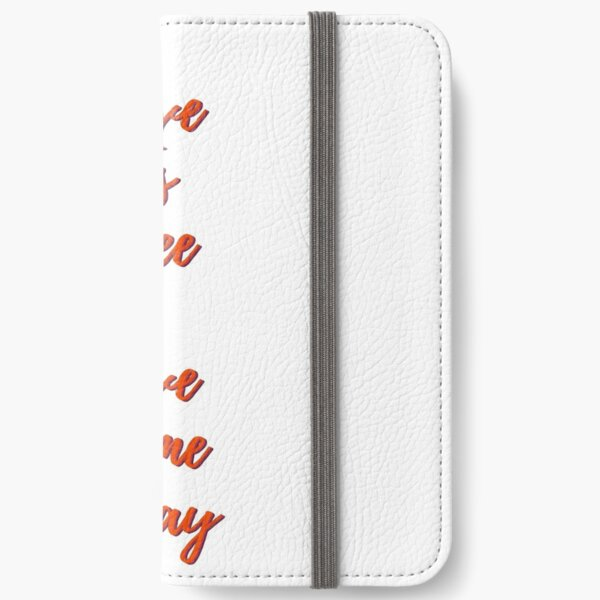 Love Is Free iPhone Wallet