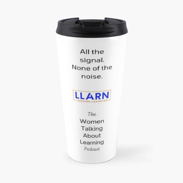 Women Talking About Learning Travel Mug