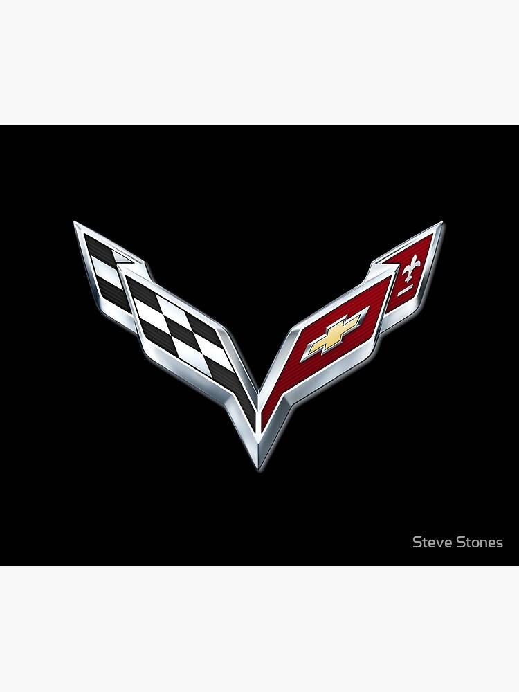 Corvette emblem C7 by stevestones