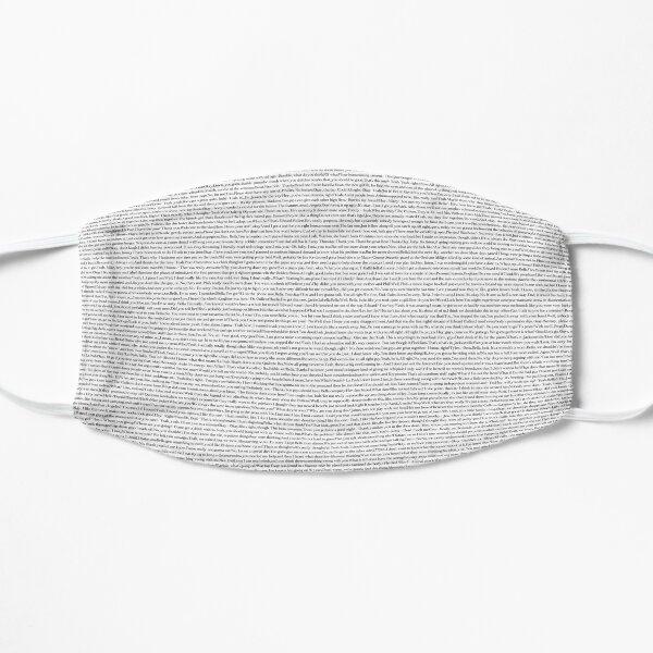 Twilight Movie Script in the Twilight Font Flat Mask