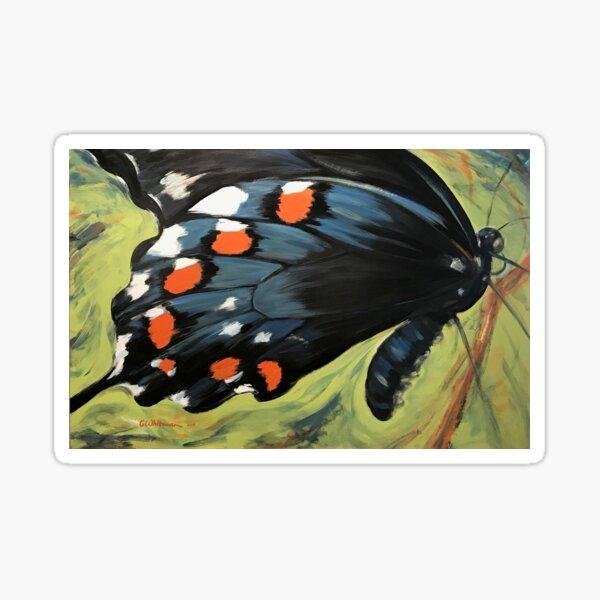 Bold Beauty Butterfly Sticker