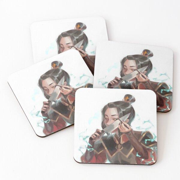 azula's eyeliner Coasters (Set of 4)