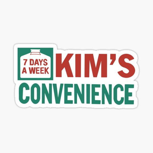 Kim's Convenience Logo Sticker