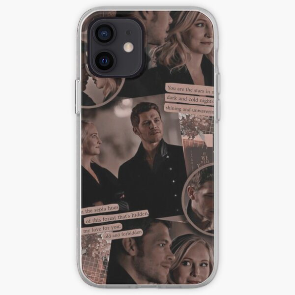 klaus Mikaelson Collage iPhone Soft Case