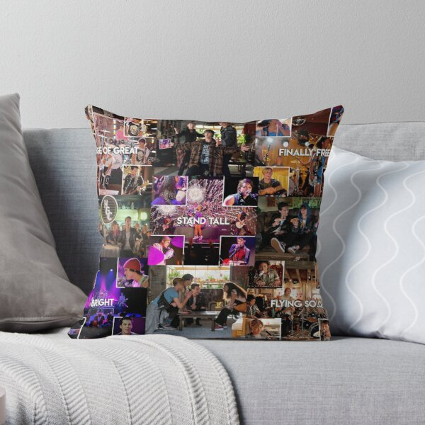 Julie and The Phantoms collage Throw Pillow